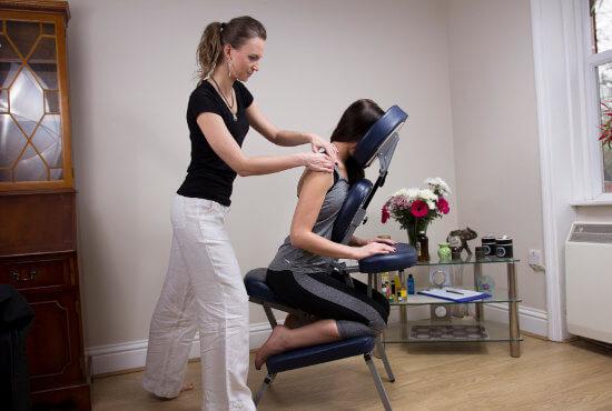 Chair Massage Reading